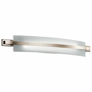 Kichler 45088PNLED Freeport Modern Polished Nickel LED 36  Bath Lighting