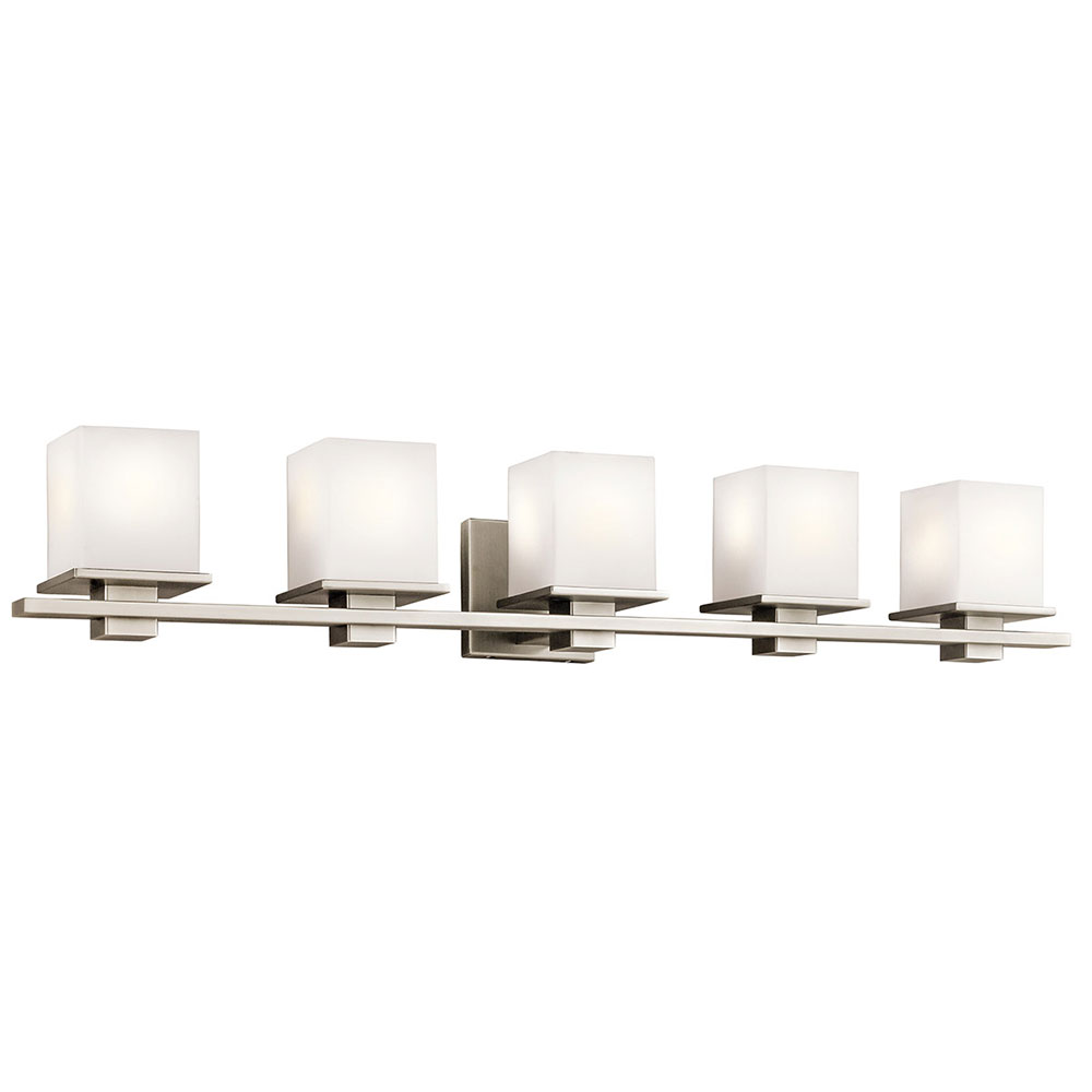 Kichler 45193AP Tully Antique Pewter 5 Light Bathroom Lighting Fixture KIC