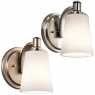 Kichler 45453 Quincy 7.75  Tall Lighting Wall Sconce