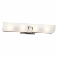 Kichler 45536NI Tryloni Modern Brushed Nickel Finish 4.75  Tall Lighting For Bathroom