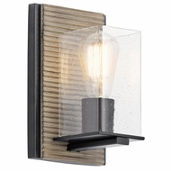 Kichler 45542DAG Millwright Distressed Antique Gray Lamp Sconce