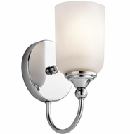 Kichler 45550CH Lilah Chrome Wall Lighting Sconce