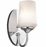 Kichler 45568CH Aubrey Chrome Wall Mounted Lamp