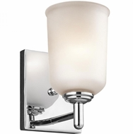 Kichler 45572CH Shailene Chrome Wall Light Sconce