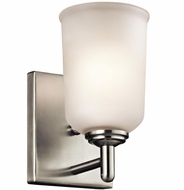 Kichler 45572NI Shailene Brushed Nickel Wall Sconce Light