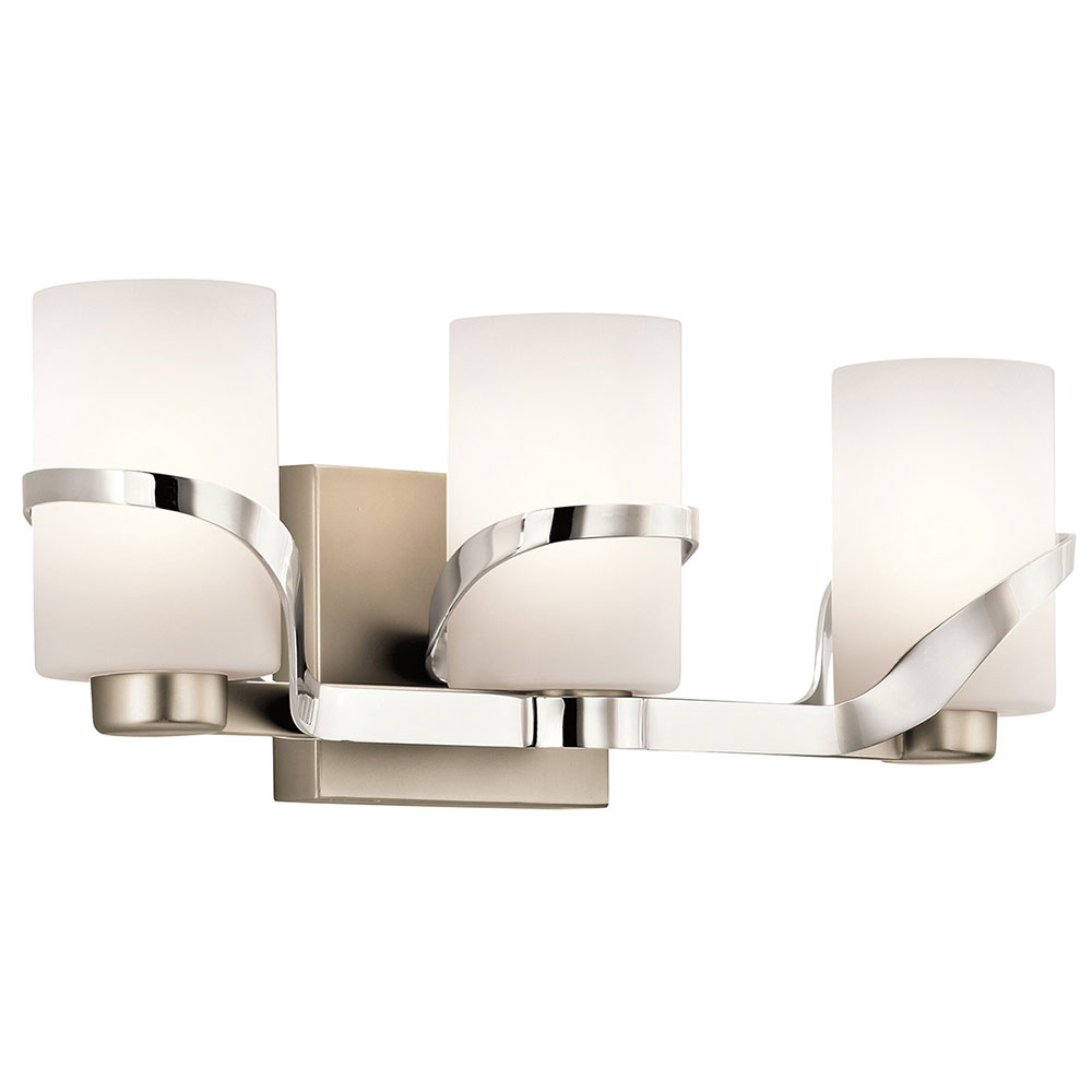 Kichler 45629pn Stelata Contemporary Polished Nickel 3