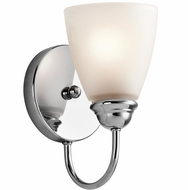 Kichler 45637CH Jolie Chrome Wall Lamp
