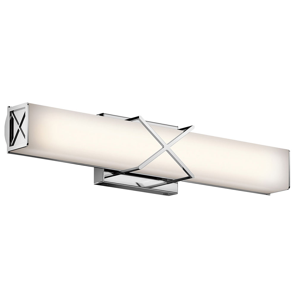 Kichler 45657CHLED Trinsic Modern Chrome LED 22 Vanity Lighting Fixture