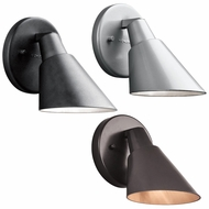 Kichler 49081 Beach Light 6.25  Tall Exterior Wall Lighting