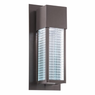 Kichler 49118AZ Sorel Modern Architectural Bronze Finish 6.5  Wide Halogen Outdoor Lighting Sconce