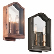 Kichler 49154 Antico 12  Tall Exterior Lamp Sconce