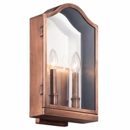 Kichler 49155 Antico 9  Wide Outdoor Wall Sconce Lighting