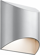 Kichler 49278PLLED Wesly Contemporary Platinum LED Exterior Wall Sconce Light