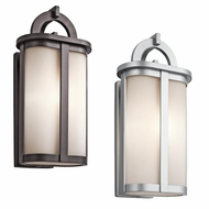 Kichler 49470 Rivera 10  Wide Outdoor Light Sconce