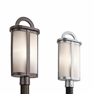 Kichler 49471 Rivera 22.25  Tall Exterior Lamp Post Light