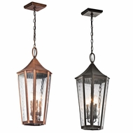 Kichler 49517 Rochdale Traditional 11.75  Wide Outdoor Pendant Lighting
