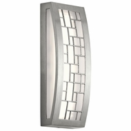 Kichler 49538BALED Margeaux Modern Brushed Aluminum LED Outdoor Small Wall Sconce