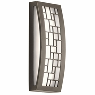 Kichler 49538OZLED Margeaux Contemporary Olde Bronze LED Exterior Small Wall Lamp