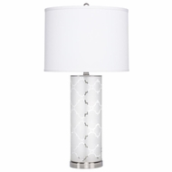Kichler 70897 Birchfield Modern Brushed Nickel Finish 29.5  Tall Lighting Table Lamp
