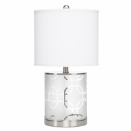 Kichler 70898 Birchfield Contemporary Brushed Nickel Finish 11.5  Wide Table Lighting