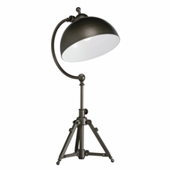 Kichler 70900 Durban Contemporary Bronze Finish 16.25  Wide Table Lamp Lighting