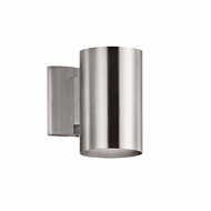Kichler 9234BA Contemporary Brushed Aluminum Outdoor Sconce Lighting