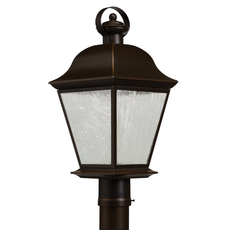 Light Pole Led Fixtures: Kichler 9909OZLED Mount Vernon Traditional Olde Bronze