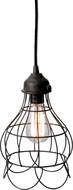 Lazy Susan 225033 Wire Rose Vintage Brown Mini Hanging Light