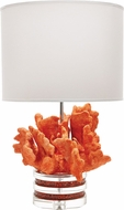 Lazy Susan Table & Floor Lamps