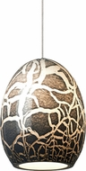 LBL HS798GY Lilah Modern Low Voltage Mini Hanging Pendant Light