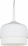 LBL LP773OPWH Mezzo Grande Contemporary White Line Voltage Drop Ceiling Lighting