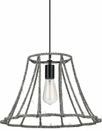 LBL LP815DUBL Linnet Modern Black Line Voltage Hanging Lamp