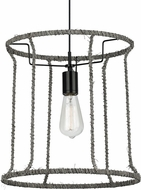 LBL LP816DUBL Linnet Contemporary Black Line Voltage Hanging Light