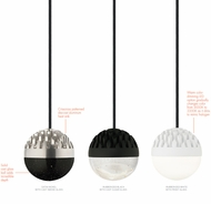 LBL LP849 Sphere Modern LED Mini Line-Voltage Pendant Hanging Light