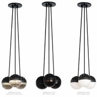 LBL LP84903 Sphere 3-Light Contemporary LED Multi Hanging Light Fixture