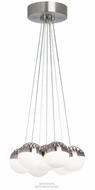 LBL LP84907 Sphere 7-Light Modern LED Multi Drop Lighting