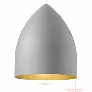 LBL LP862 Signal Grande Contemporary Line-Voltage Ceiling Pendant Light