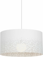 LBL LP959WHLED830 Crossblend Contemporary White LED Hanging Light Fixture