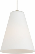 LBL LP975WHSCLED827 Mati Contemporary Satin Nickel LED Mini Hanging Light Fixture