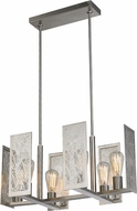 LBL SU7576SC Tessa Contemporary Satin Nickel Chandelier Lighting