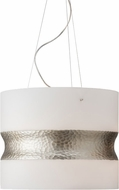 LBL SU776OSSC Vera Contemporary Satin Nickel Pendant Lighting Fixture