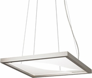 LBL SU831SCLED Vitre Modern Satin Nickel LED Chandelier Lamp