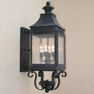 Lighting Innovations BPS1111 Outdoor 6.9 Wide x 20.5 Tall Lamp Sconce