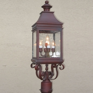 Lighting Innovations P1136 Outdoor 6.9 Wide x 23.3 Tall Post Lamp