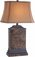 Lite Source C41147 Hedia Dark Bronze Finish 26.5  Tall Lighting Table Lamp