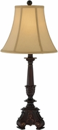 Lite Source C41362 Samson Dark Brown Fluorescent Table Lamp