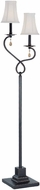 Lite Source C61150 Tovah Dark Bronze Finish 13  Wide Floor Lamp Light