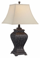 Lite Source CF41305 Kemp Dark Bronze Finish 16  Wide Table Lighting