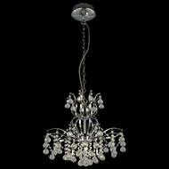 Lite Source EL-10106 Epiphany Chrome Finish 100  Tall Halogen Chandelier Light