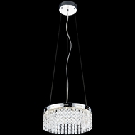 Lite Source EL-10121 Alecia I Chrome Finish 72.25  Tall LED Hanging Light